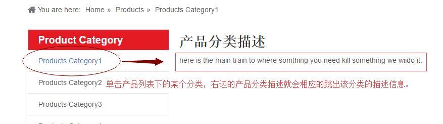 产品分类描述3